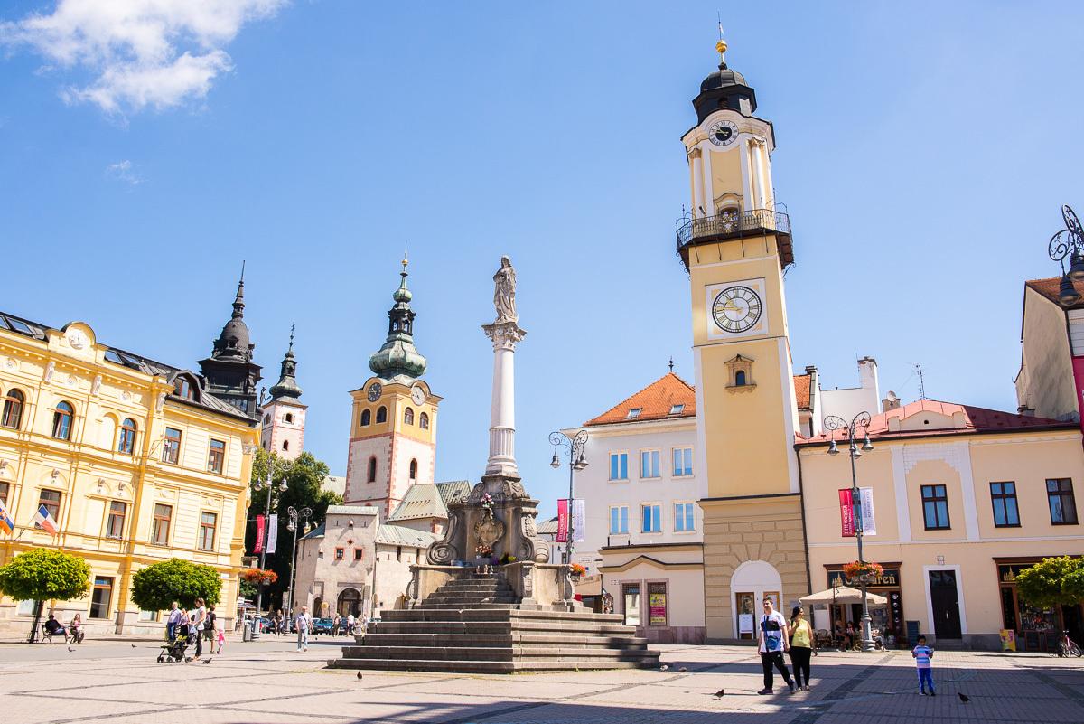 площадь СНВ и наклонная часовая башня
