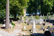 hřbitov u kostela sv. Kříže