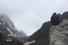 ledovec Chalati Glacier