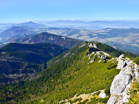 výhľad zo Sivého vrchu