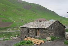 obydlie v Ushguli