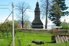 dřevěný kostel sv. Ducha