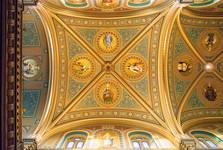 strop v kostele sv. Cyrila a Metoděje