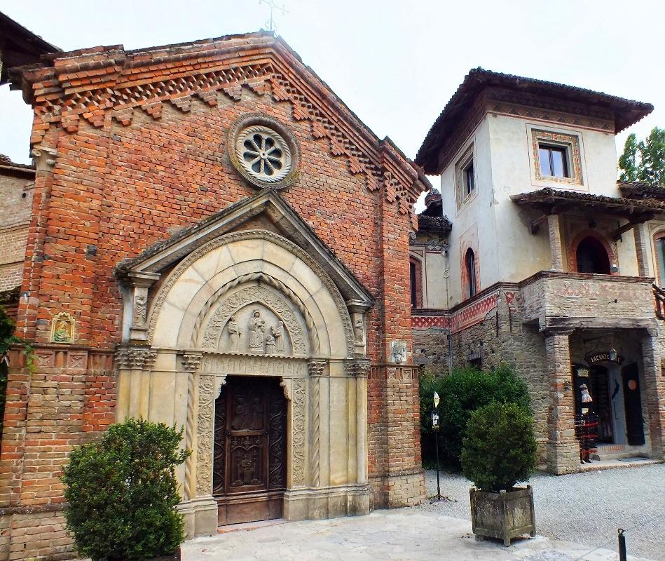 Our Lady church, Grazzano Visconti