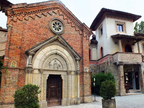 kostol Panny Márie, Grazzano Visconti