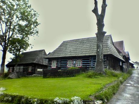 Ždiar – tradiční dřevěnice