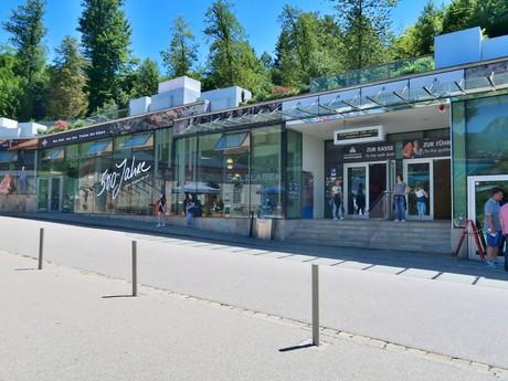 Salzbergwerk Берхтесгаден  (вход)
