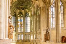 interiér chrámu sv. Barbory