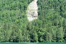 jazero Königssee (vodopád)