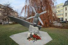 pomník letcům RAF
