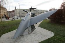 model stíhačky Spitfire