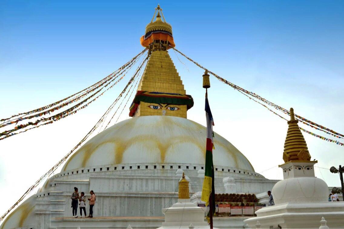 buddhistická stúpa Boudhanath