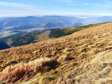 pohled na Muránskou planinu a Horehronské podolí