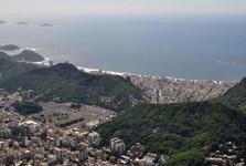 výhled na Copacabanu