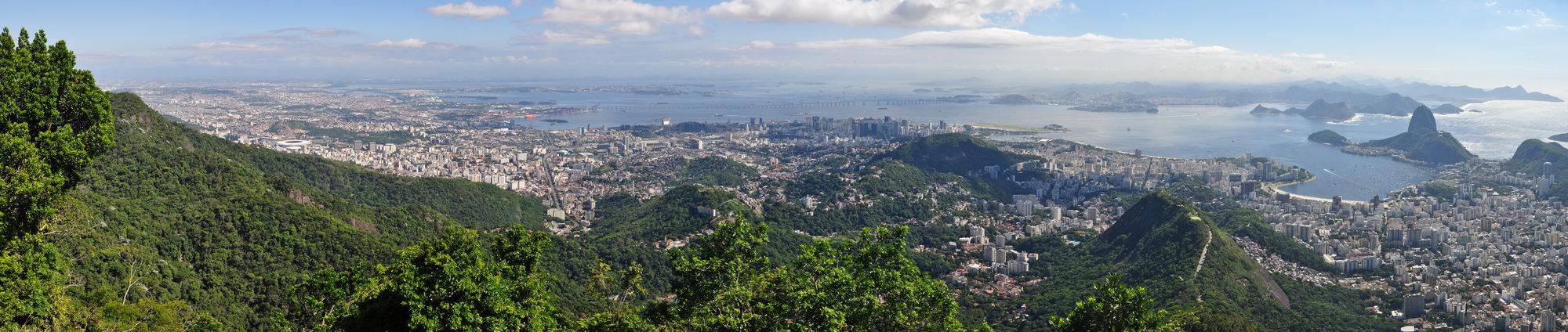 pohled na Rio a záliv