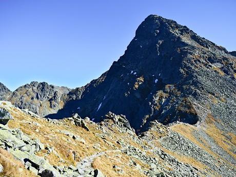 Svinické sedlo a vrch Svinica