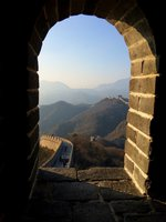 pohled ze strážné věže