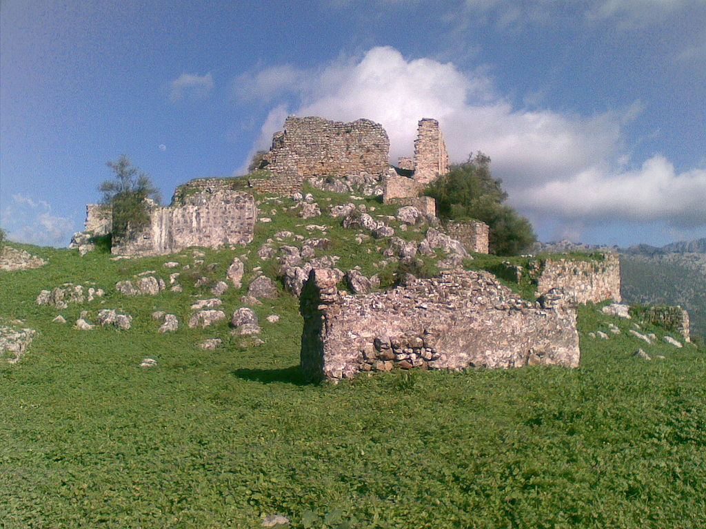 zřícenina hradu Aznalmara