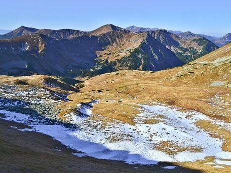 Liptovské kopy a Zadná Tichá dolina