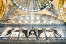 interiér Modrej mešity