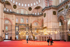 interiér Modré mešity