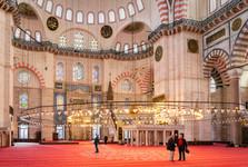 интерьер Синей мечети
