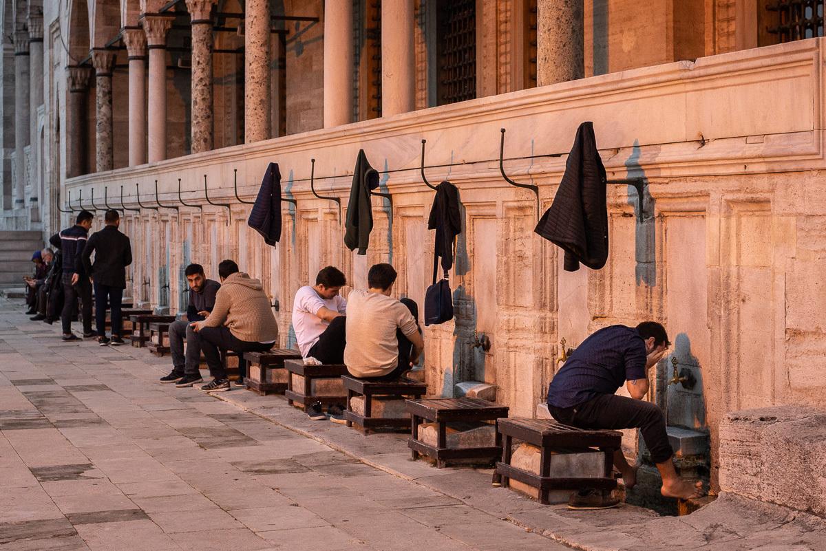 před modlitbou je potřeba se řádně očistit