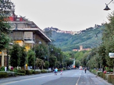 Montecantini Terme; na kopci Montecatini Alta