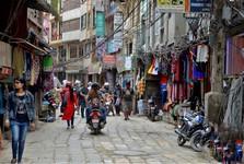 ulice čtvrti Thamel