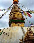 chrám Swayambhu