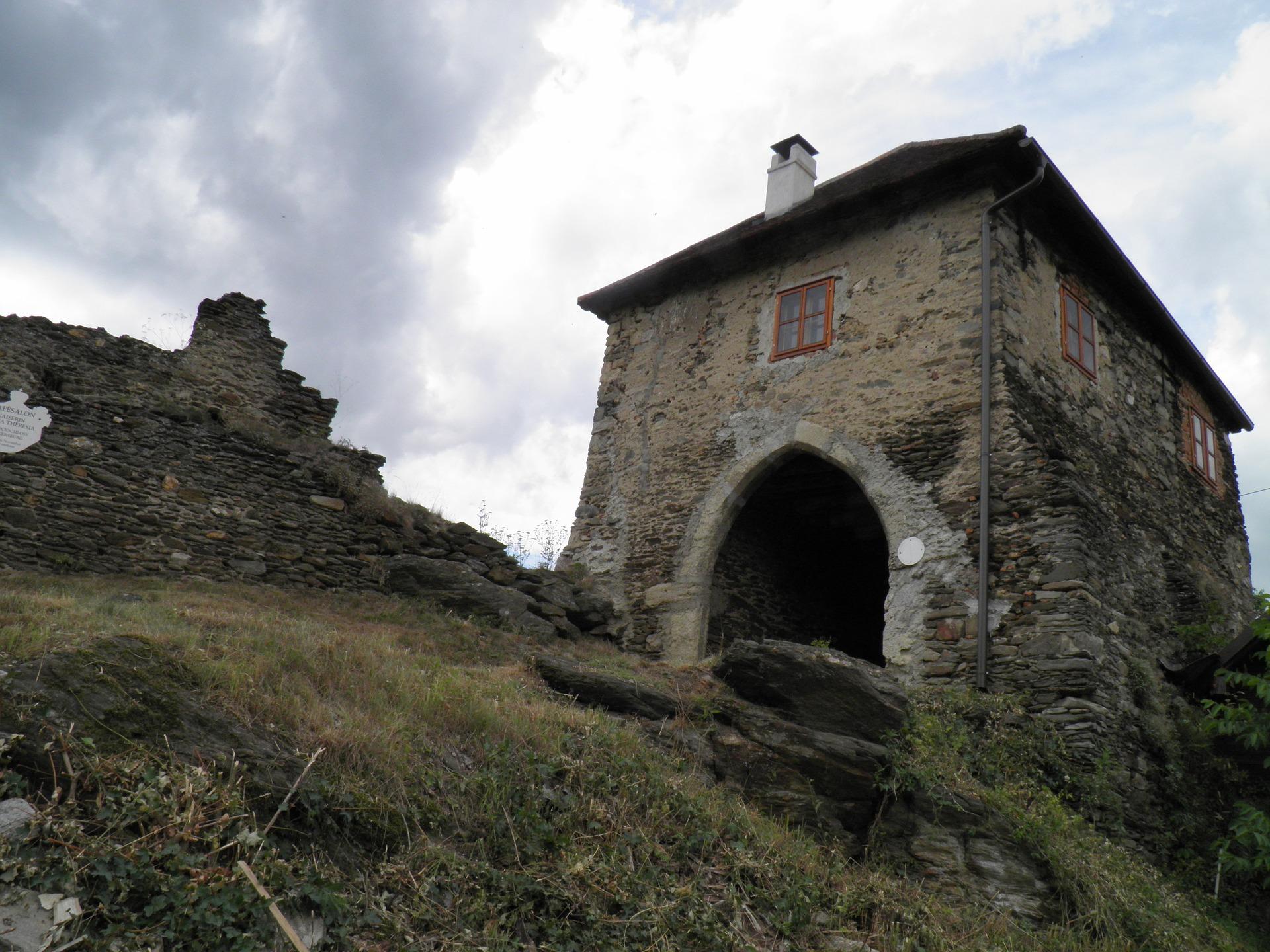 na hrade Hardegg