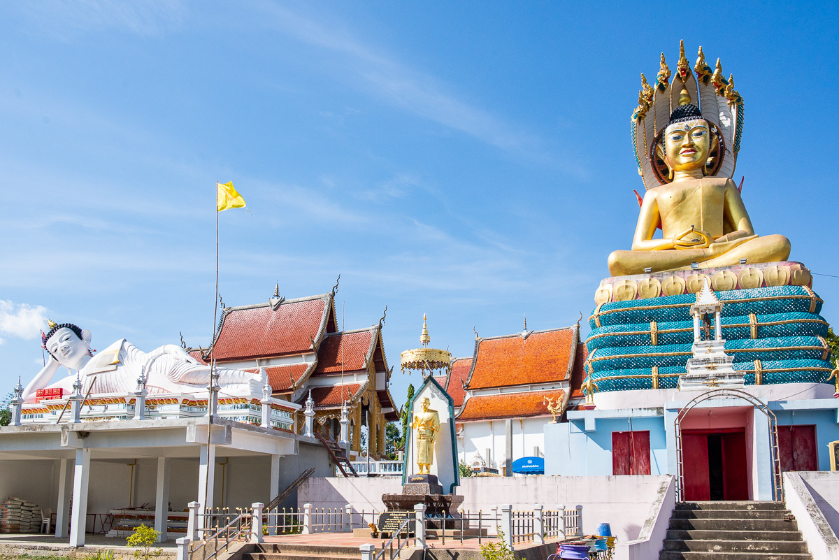 chrám nedaleko Doi Tao