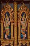 ozdoby na zdech kambodžského kláštera