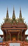 buddhistických klášter z Kambodže