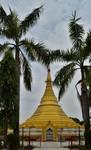 myanmarský chrám