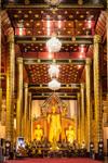interiér Wat Chedi Luang