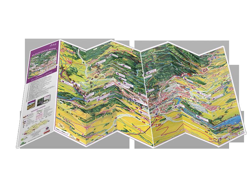 """книга """"Братислава для детей"""" (карта)"""