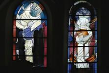 витражи костела Св. Георгия (Лимбург)