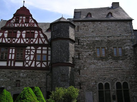 nejstarší zachovaná část Limburgerského zámku