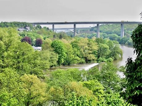 dálnice nad řekou Lahn (Limburg)