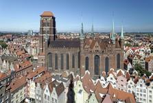 Gdaňsk – kostel Panny Marie