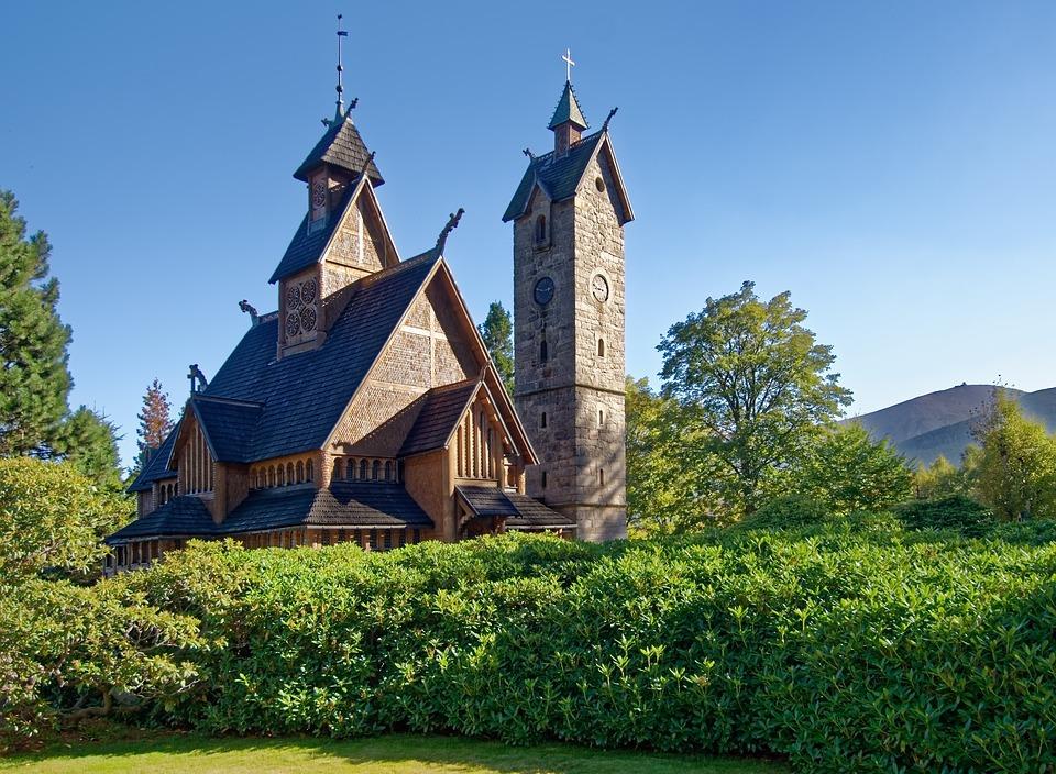 6813f4a4a3b20 Gdaňsk – kostol Panny Márie kostol Wang na poľskej strane Krkonôš