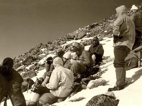 Zimný hrebeň Tatier