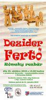 DEZIDER FERTŐ - RÓMSKY REZBÁR