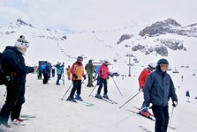 lyžařská oblast Silvretta