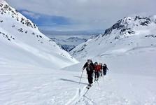 lyžařská oblast Silvretta (skialpinismus)