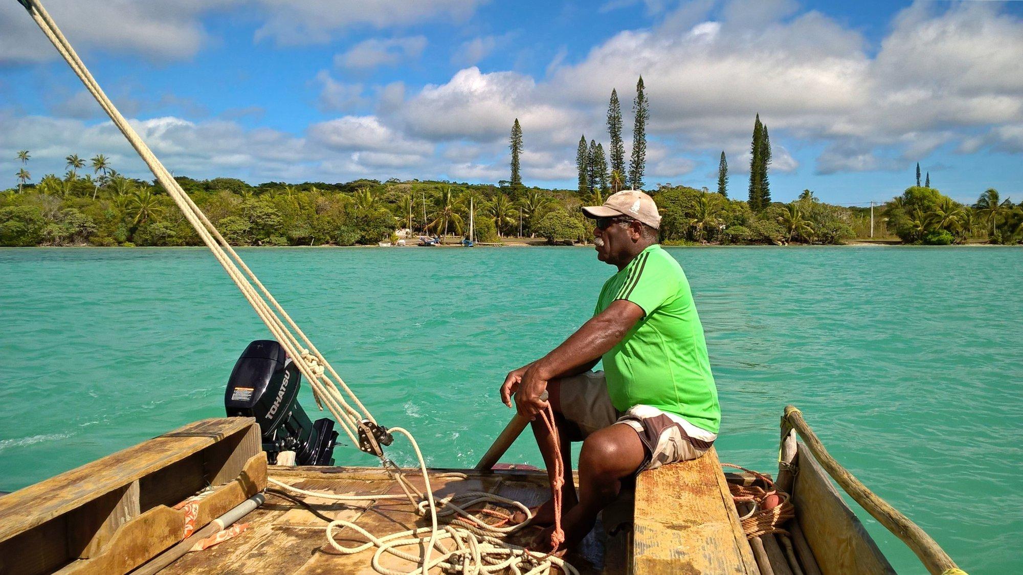 kapitán naší plachetnice