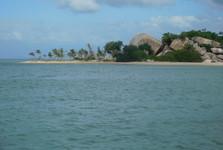 путешествие на лодке на острова