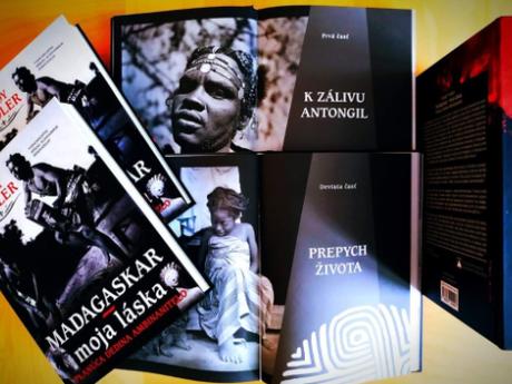 kniha MADAGASKAR, MOJA LÁSKA