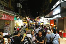 night markets are very well known and popular activity